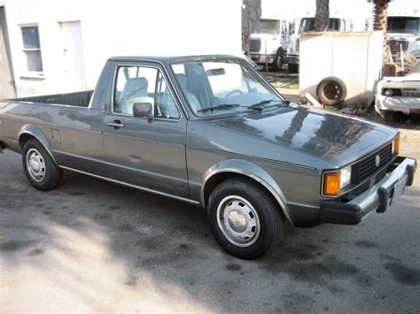 vw truck diesel power 1981 volkswagen rabbit pickup lx