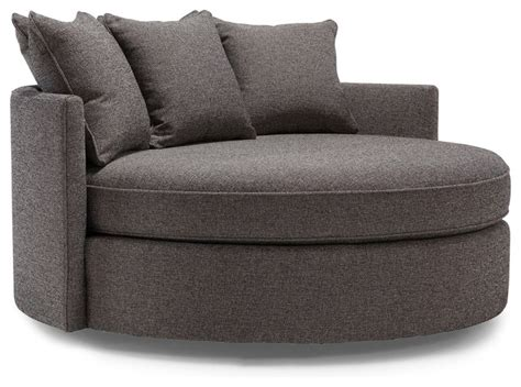 round armchair jeanie round chair 1 2 contemporary sofas by