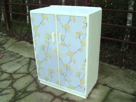 Decoupage Wardrobe - retro painted shabby chic decoupage child s wardrobe
