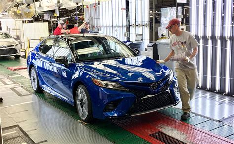 Toyota Kentucky Toyota S Kentucky Plant Launches 2018 Camry