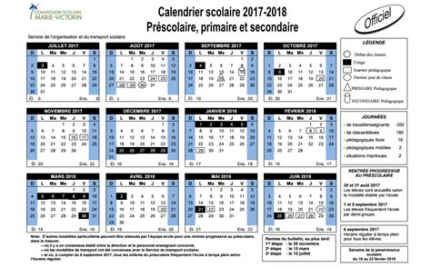 Calendrier Scolaire 2014 Cegep Victorin Calendrier Scolaire 2017 2018 Commission Scolaire