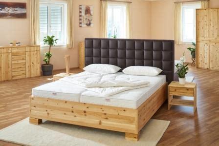 Betten Abverkauf by Boxspring Bett Zirbenbett Vollholzbett