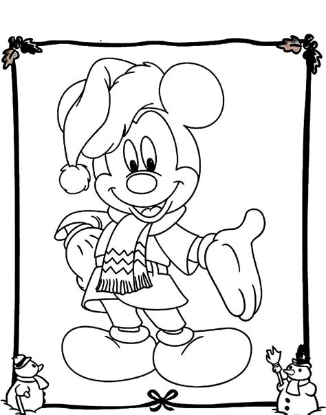 mickey mouse christmas coloring pages timeless miracle com