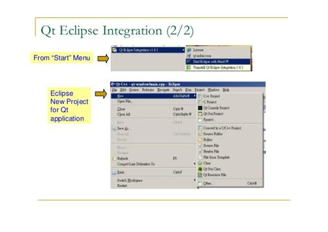 qt programming eclipse qt development tools
