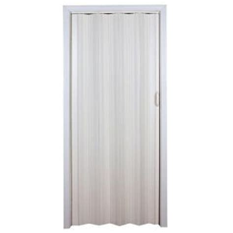 Folding Doors Home Depot by Spectrum 36 In X 80 In Cottage Vinyl White Accordion Door Si3680cw The Home Depot