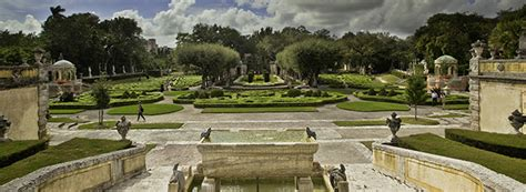 House Plans With Courtyard Vizcaya Museum Amp Gardens Gardens Overview