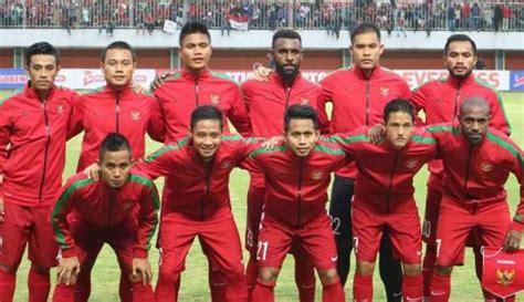 pemain indonesia tc di karawaci ini daftar 24 pemain timnas indonesia