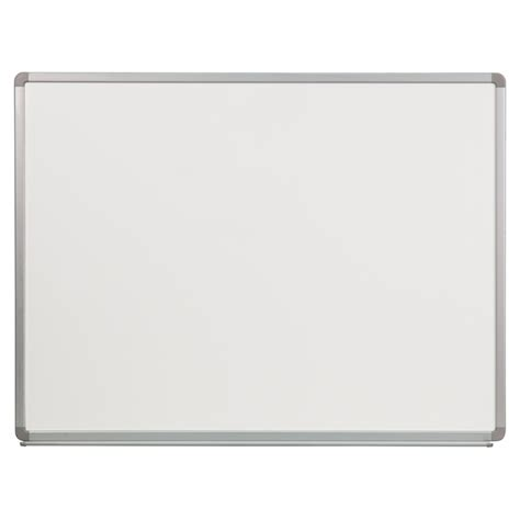 Sale Sakana Papan Whiteboard Magnetic 90 X 120 48 quot x 36 quot porcelain magnetic marker board white dcg stores