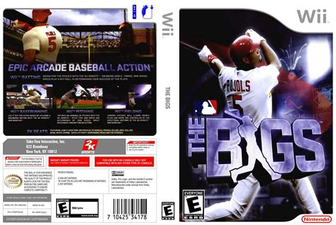 dvd format wii games the bigs nintendo wii game covers the bigs dvd covers