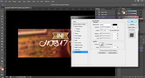 cara membuat logo ini talkshow tutorial membuat logo ini talkshow dengan photoshop hfs17