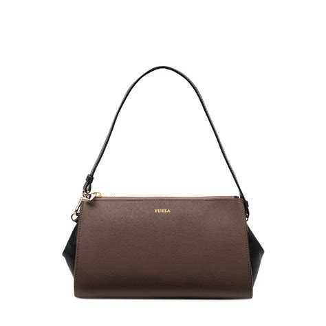 Mini Furla furla odette mini bag in brown cigar lyst