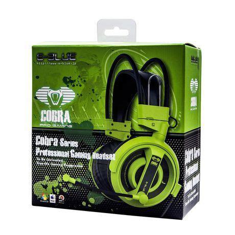 Headset Gaming E Blue Cobra Eblue Series Gamers Banget Aif612 e blue cobra professional gaming headset green walmart ca