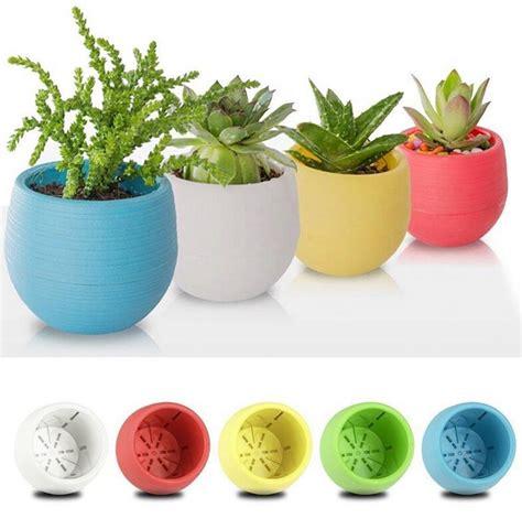 Gardener S Supply Flower Pot Plastic Flower Pot Succulent Plant Flowerpot For Home