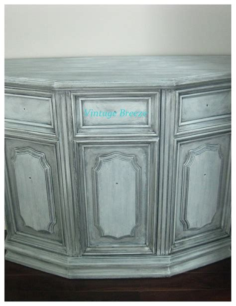 Chalk Paint With A Black Glaze Decorating