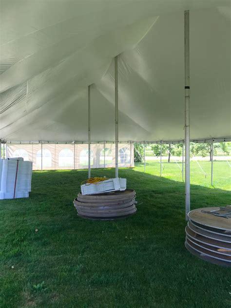 tent in backyard backyard outdoor wedding tent reception in de witt iowa