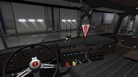 Kenworth K100 Interior by Kenworth K100 Interior Mod American Truck Simulator Mod
