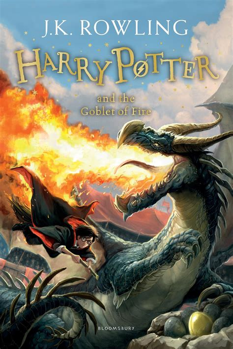 harry potter and the goblet of series 4 bloomsbury reveals remaining 4 book covers of new harry
