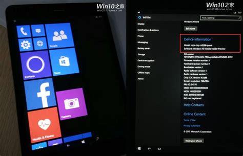 windows mobile tablet primeiras fotos do windows 10 mobile em um tablet arm