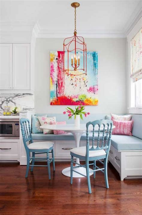 Breakfast Nook Art | beautiful breakfast nooks that will convince you to get one