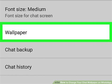 whatsapp chat wallpaper library how to change your chat wallpaper on whatsapp with pictures
