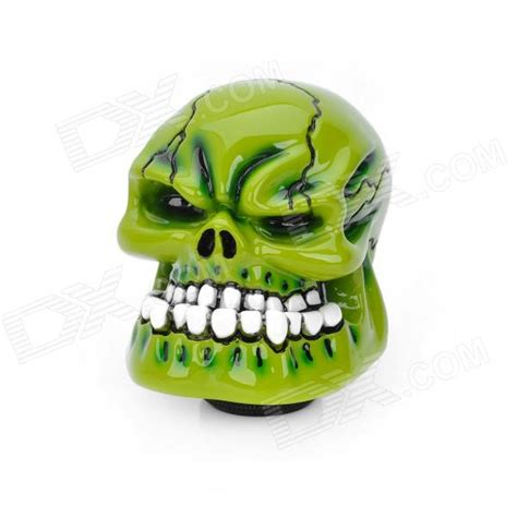 Green Skull Shift Knob by Cool Skull Style Resin Car Gear Shift Knob Green Free Shipping Dealextreme