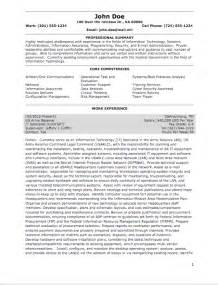 Federal Resume Template Word by Resume Federal Template