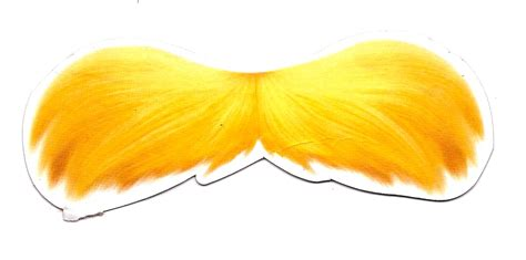 lorax mustache template cut out for the lorax mustache catch all
