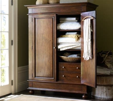 pottery barn armoire belvedere armoire potterybarn home goods i like