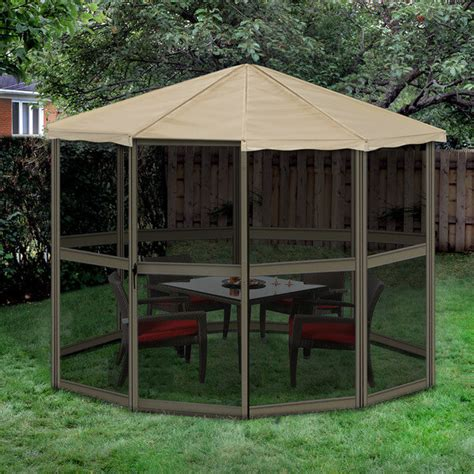 Small Gazebo With Sides 27 Gazebos With Screens For Bug Free Backyard Relaxation