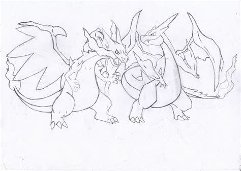pokemon coloring pages x and y mega evolution coloring pages of mega charizard y pokemon coloring pages