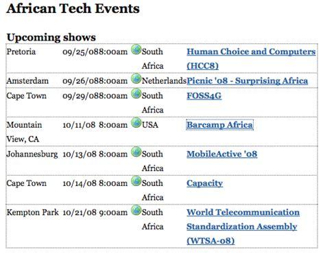 City Tech Calendar Tech Events Calendar Whiteafrican