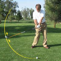 golf swing arc golf swing path golf beginner