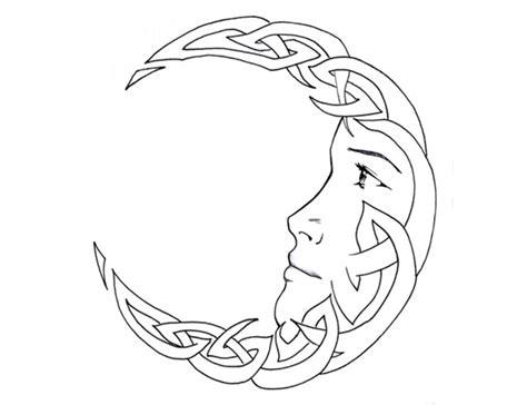 celtic moon tattoo sun tattoos sun and tattoos and on