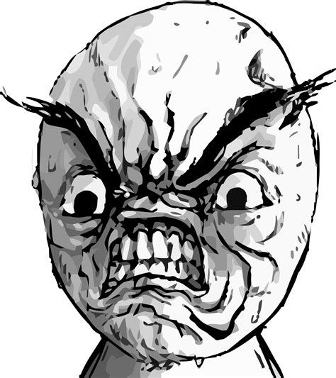 Rage Meme Face