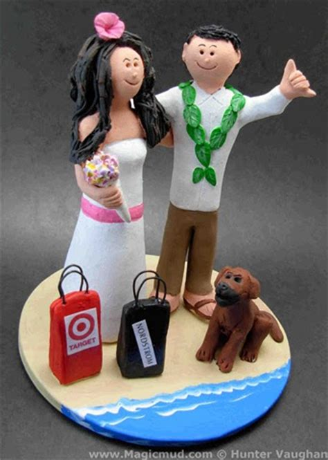Magic Shopaholic by Custom Wedding Cake Toppers Confessions Of A Shopaholic
