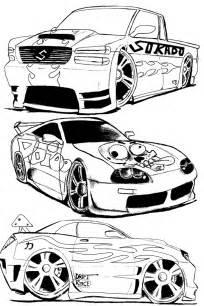 Carros Da Hot Wheels Para Colorir