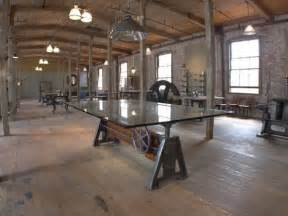Design Style Home Furnishings Inc Industrial Adjustable Wood And Metal Cast Iron Table