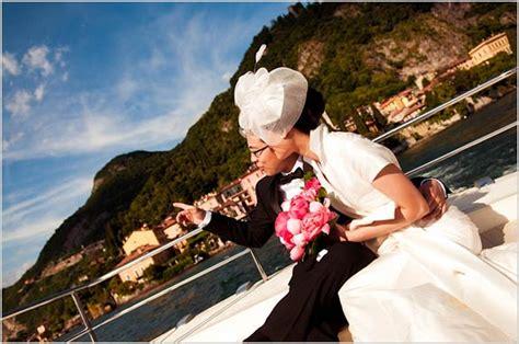 Wedding On A Boat by Catholic Wedding In Varenna Lake Como