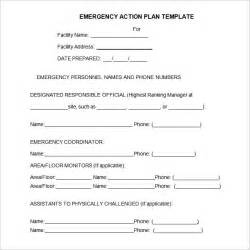 Emergency Plan Template For Businesses by Emergency Plan Template 13 Free Word Excel Pdf