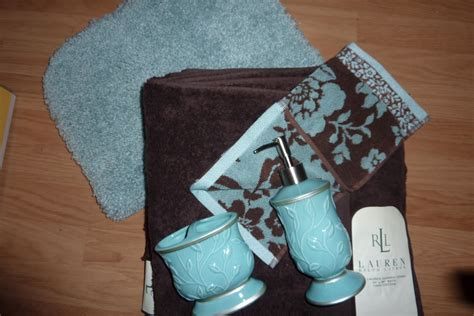 Aqua And Brown Bathroom Accessories Colors Of Curacao Brown Aqua Bathroom Color Inspiration