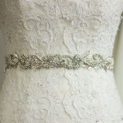 wedding belt sash rhinestone sash wedding dress belt sash