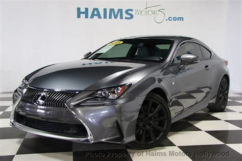 used lexus coupe 2015 used lexus rc 350 2dr coupe rwd at haims motors