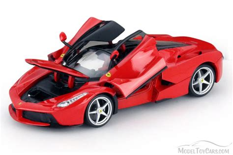 toy ferrari model cars ferrari race and play laferrari red bburago 16001 1