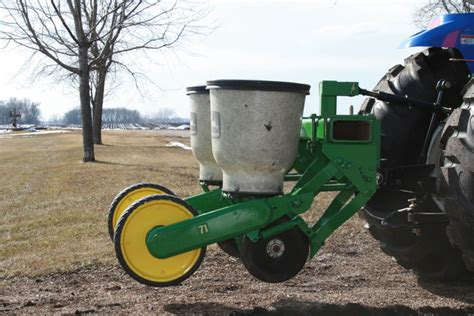 Deere 71 Planter by Midwest Wildlife Management Used Deere 71 2 Row Planter
