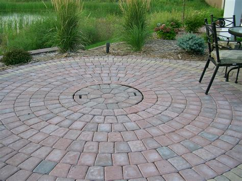Circular Patio Designs Types Of Brick Patio Designs To Make Your Garden More Beautiful