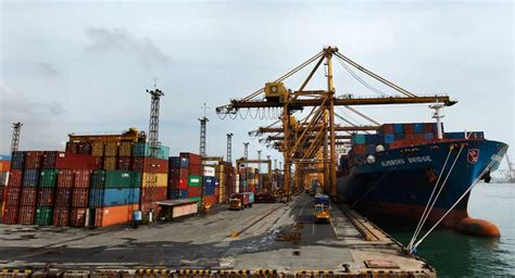 Port Records Colombo Port Records 13 Growth In Vessel Arrivals Ft