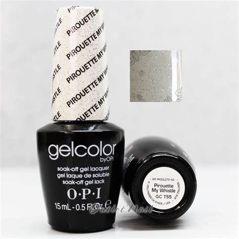 Opi Gel Led L by Opi Gelcolor Gc T55 Pirouette Whistle 15ml 0 5oz Uv