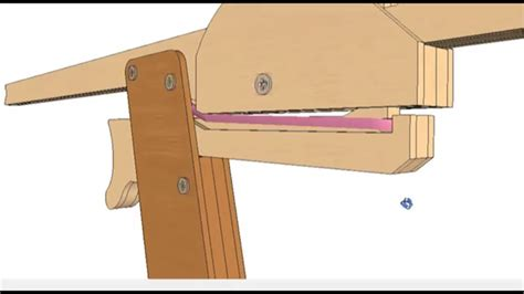 rubber band gun plans cnc laser cut scroll  woodworking