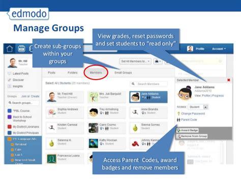 edmodo join group url tutorial edmodo untuk guru dan siswa