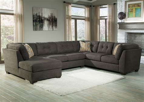 lugoro left arm facing chaise sectional oak furniture liquidators delta city steel left arm facing